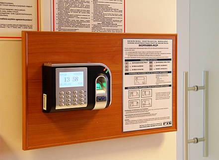 Rejestracja Czasu Pracy RCP Gdańsk PROSTAL