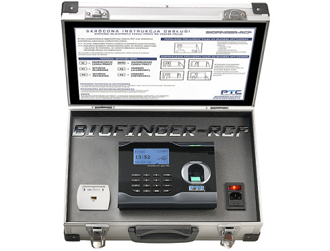 Mobilny system Rejestracji Czasu Pracy na odcisk palca