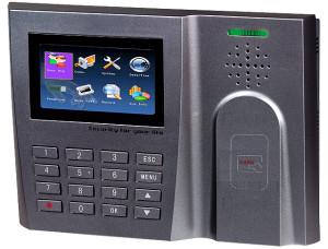 Rejestracja czasu pracy RFID.S260C