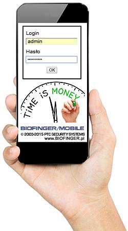 RCP online BIOFINGER/Mobile Smartfon