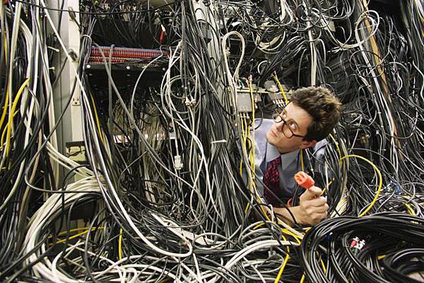 Teletechnika. Serwerownia