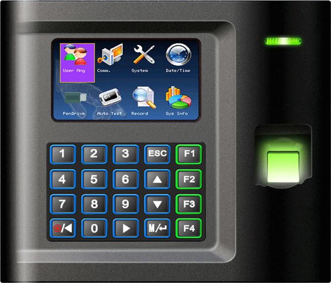 Biometryczny rejestrator czasu pracy US10C