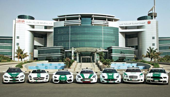 Rejestracja Czasu Pracy.Policja w Dubaju