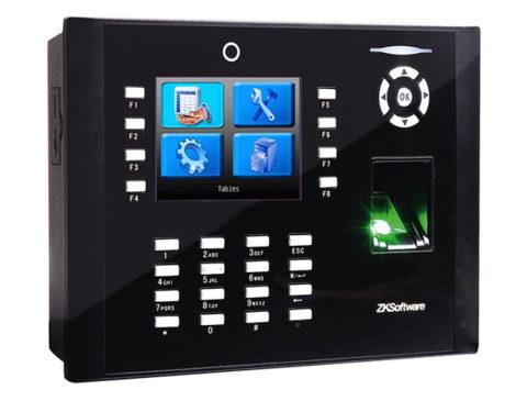 Biometryczny rejestrator czasu pracy z kamerą z serii BIOFINGER.iClock660/680