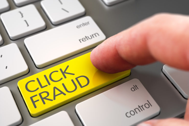 Google AdWords fraud clicks