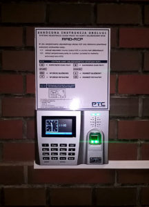 How to install biometric Time and Attendance system?