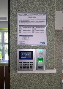 Biometric Time and Attendance system