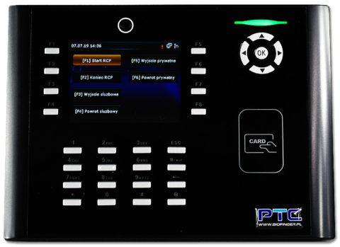 Foto-rejestrator czasu pracy RCP na karty i breloki zbliżeniowe z serii RFID.S880