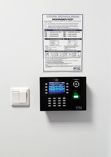Rejestrator czasu pracy BIOFINGER.iClock680