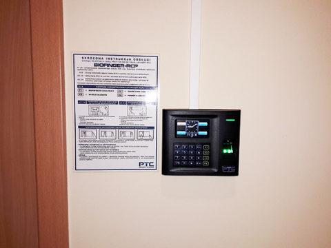 Rejestrator czasy pracy BIOFINGER.US15C