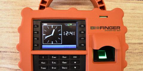 Przenośny rejestrator czasu pracy BIOFINGER.S922