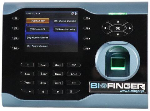 Biometryczno/zbliżeniowy czytnik czasu pracy RCP
